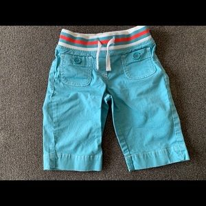 Boden boys Mini Boden blue shorts
